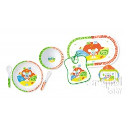7-piece dinnerware Beach Baby