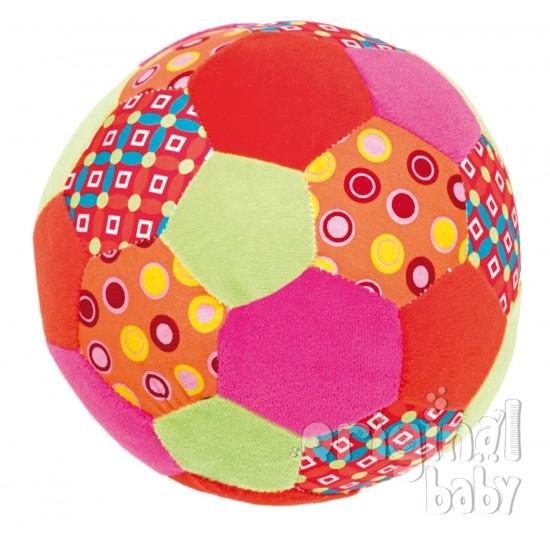 Mi primer balón con chip musical rosa