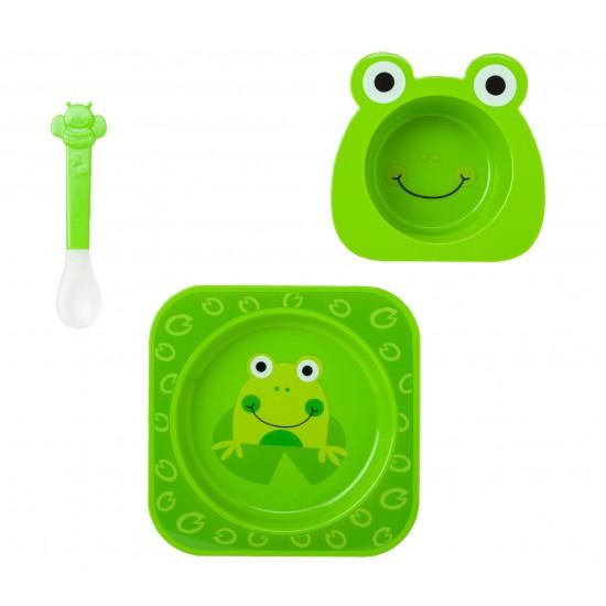 Nueva Vajilla 4piezas para Microondas Fun Verde