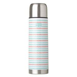 New steel thermos 350ml for liquids Zigzag