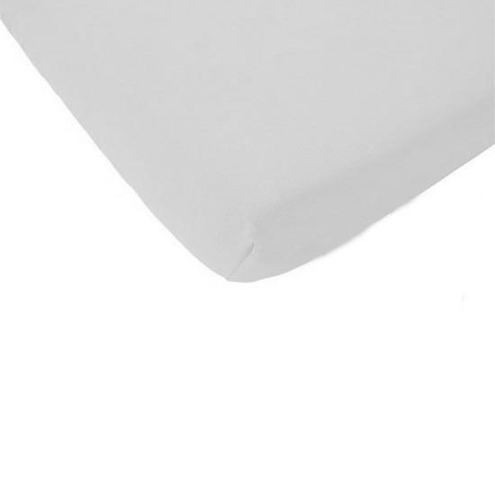 Sábana bajera de MAXI cuna color blanco