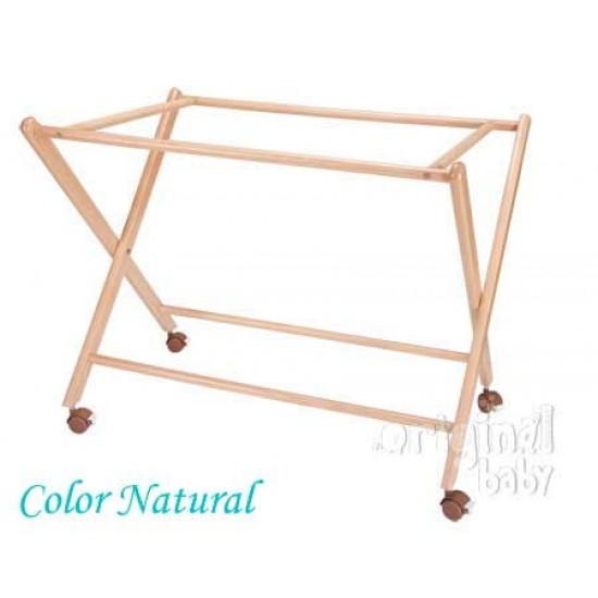 Estructura de minicuna de madera tijera