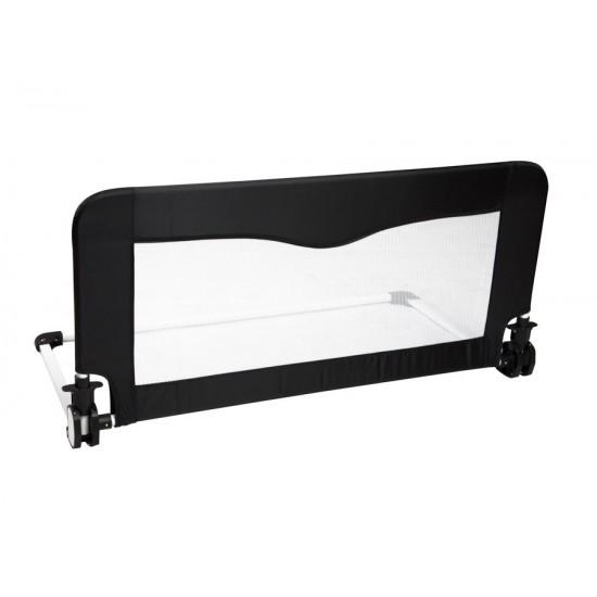 Barrera de cama Flow 90 cm Negro