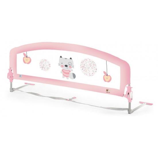 Barrera de cama super alta baby rosa (Camas nido)