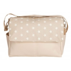 Stars maternal baby bag beige