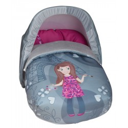Saco de porta bebé Pintora (Capota Incluida)