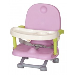 Picnic travel highchair raspberry