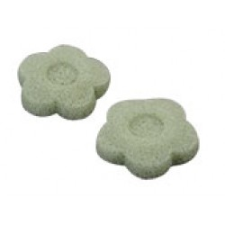 Natural Konjac Sponge Flower Green