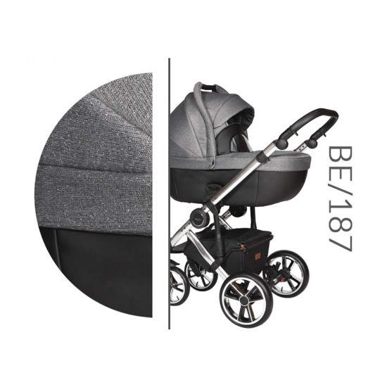 Model Bebello BE LIMITED / 187 GRAY / GRAPHITE LEATHER