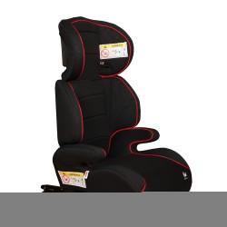 Silla Elevador de auto Bali Isofix Grupos 2-3 Negro
