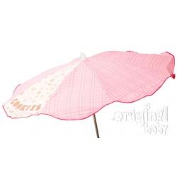 Baby pink umbrella cookie