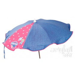 Cowgirl baby pink umbrella