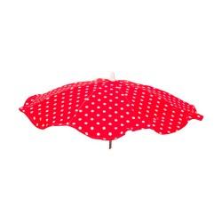 Sombrilla bebé Lunares rojo