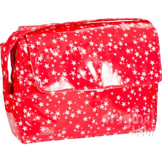 Bolso Estrellitas Rojo