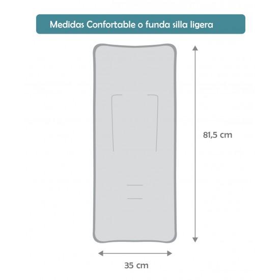 Colchoneta silla ligera Buho Morado