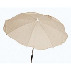 Beige chair umbrella Plumeti