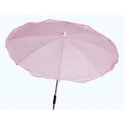 Sombrilla para silla paseo Plumeti Rosa