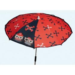Red Pirates umbrella chair