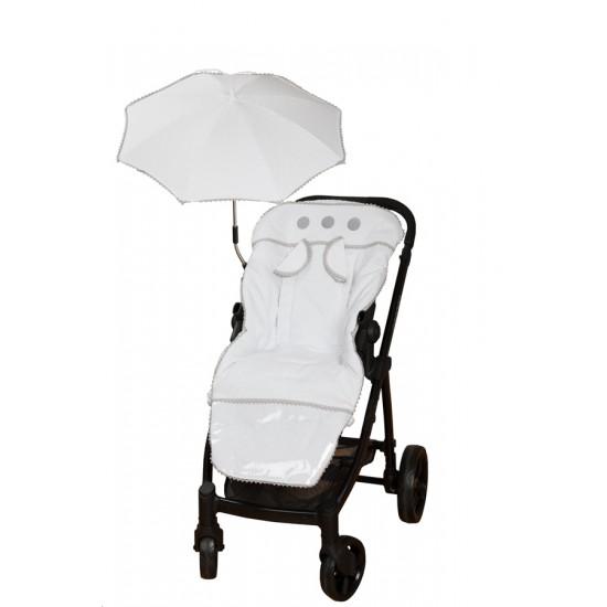 Sombrilla para silla de paseo damas