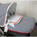 Quilt for stroller basket