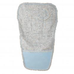 Colchoneta silla paseo Caramelo Azul (cubre arnés incluido)