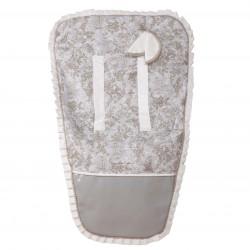 Colchoneta silla paseo Paseos de Toile Gris (cubre arnés incluido)