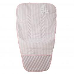 Colchoneta silla paseo Summer Rosa (cubre arnés incluido)