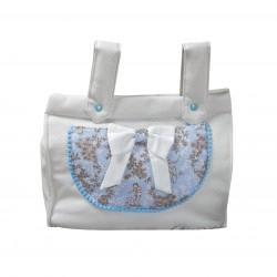 Panera bebé polipiel Paseos de Toile Azul