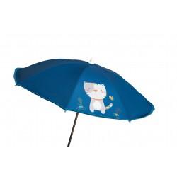 Sombrilla silla paseo Kitty Azul