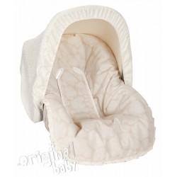 Colchoneta grupo 0 Jacquard Baby Beige