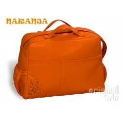 Bolso Maternal Polipiel color naranja