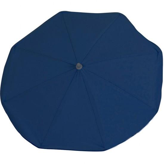 Sombrilla azul marino lisa