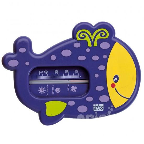 Termómetro de baño snorkel morado