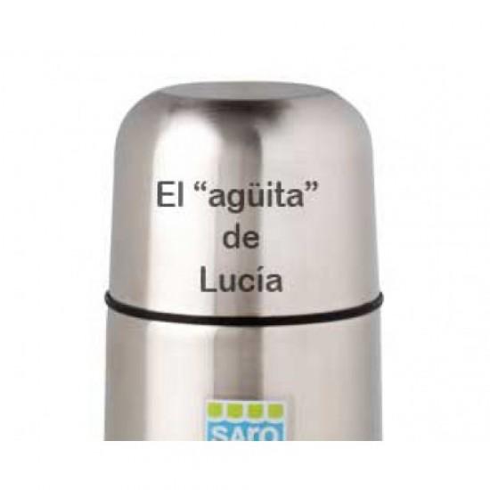 Nuevo Termo de acero para líquidos 350ml Zig-Zag