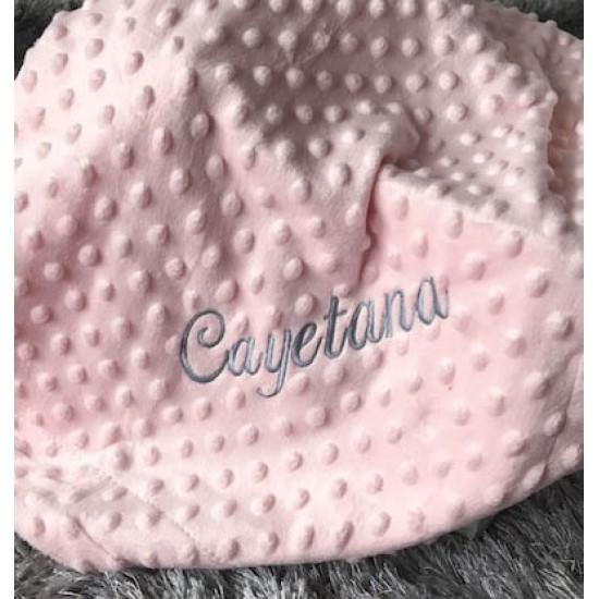 Manta rosa para el bebé de Interbaby