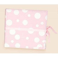 Album de fotos circulos rosa