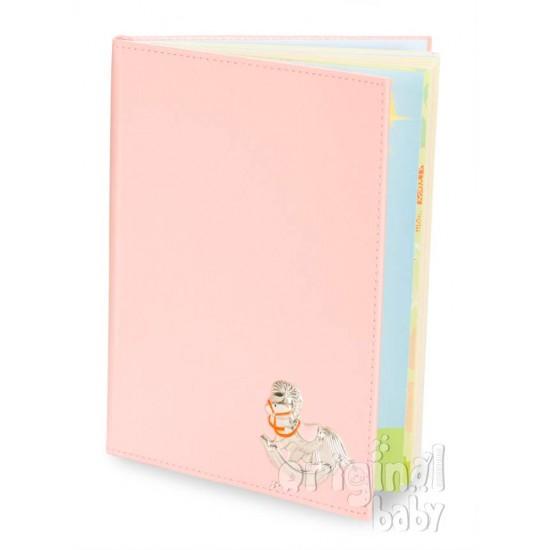 Diario del bebé caballito rosa