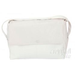 White leather bag Algodones