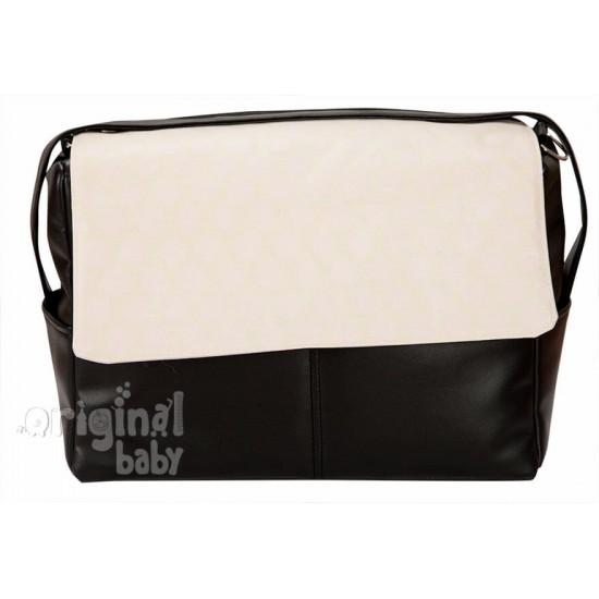 Bolso bebé de piel Topo Jacquard rosa
