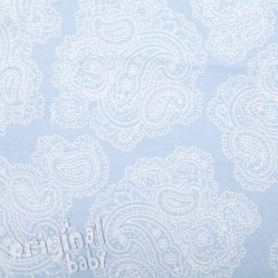 Saco de silla paseo Jacquard Baby azul