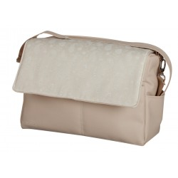 Cashmere Beige leatherette bag baby