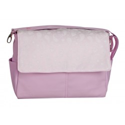 Cashmere Leather bag Rosa