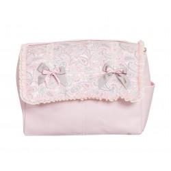 Bolso de bebé polipiel Caramelo rosa