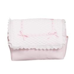 Bolso de bebé polipiel Sweet Rosa