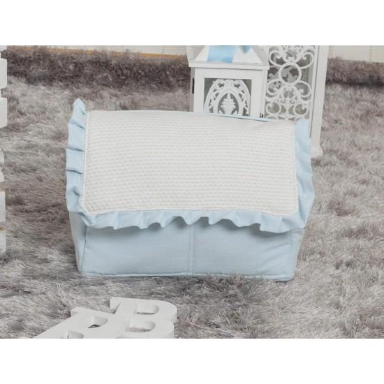 Bolso de bebé polipiel Destellos Azul