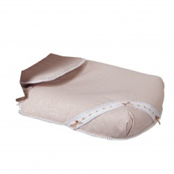 Bugaboo carrycot coverlet bombón beige