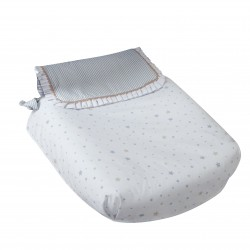 Bugaboo carrycot coverlet blue dreams