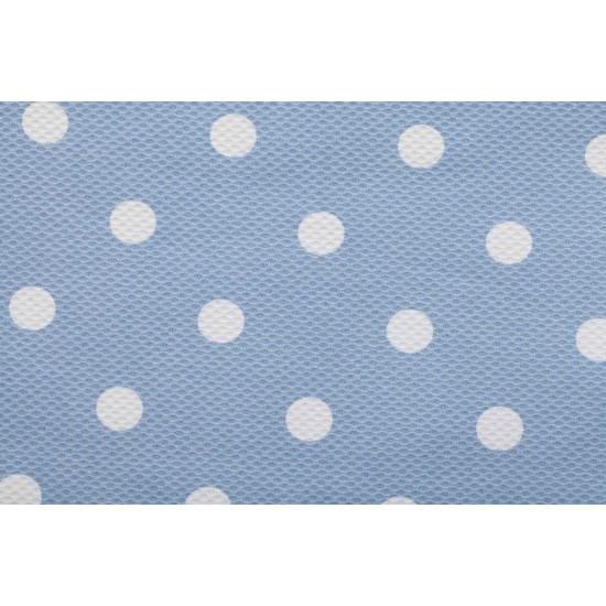 Colchoneta grupo 0  Carrusel Azul (cubre arnés y capota de regalo)