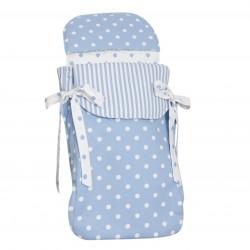 Saco bebé 3 usos Carrusel Azul