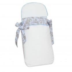 Saco bebé 3 usos Paseos de Toile Azul